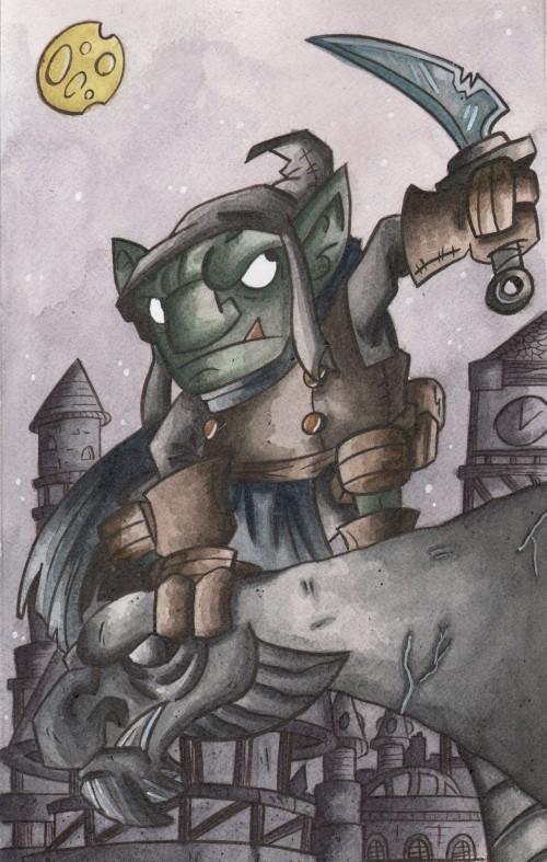 Goblin on Gargoyle