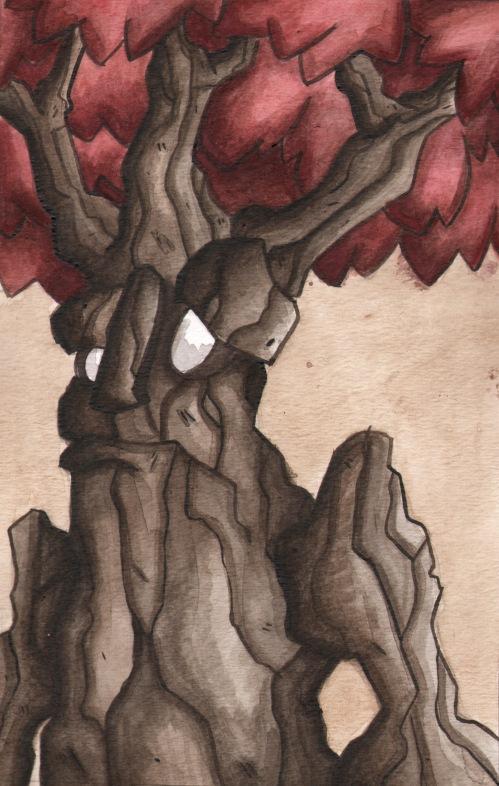 Tree Folk of Autumn