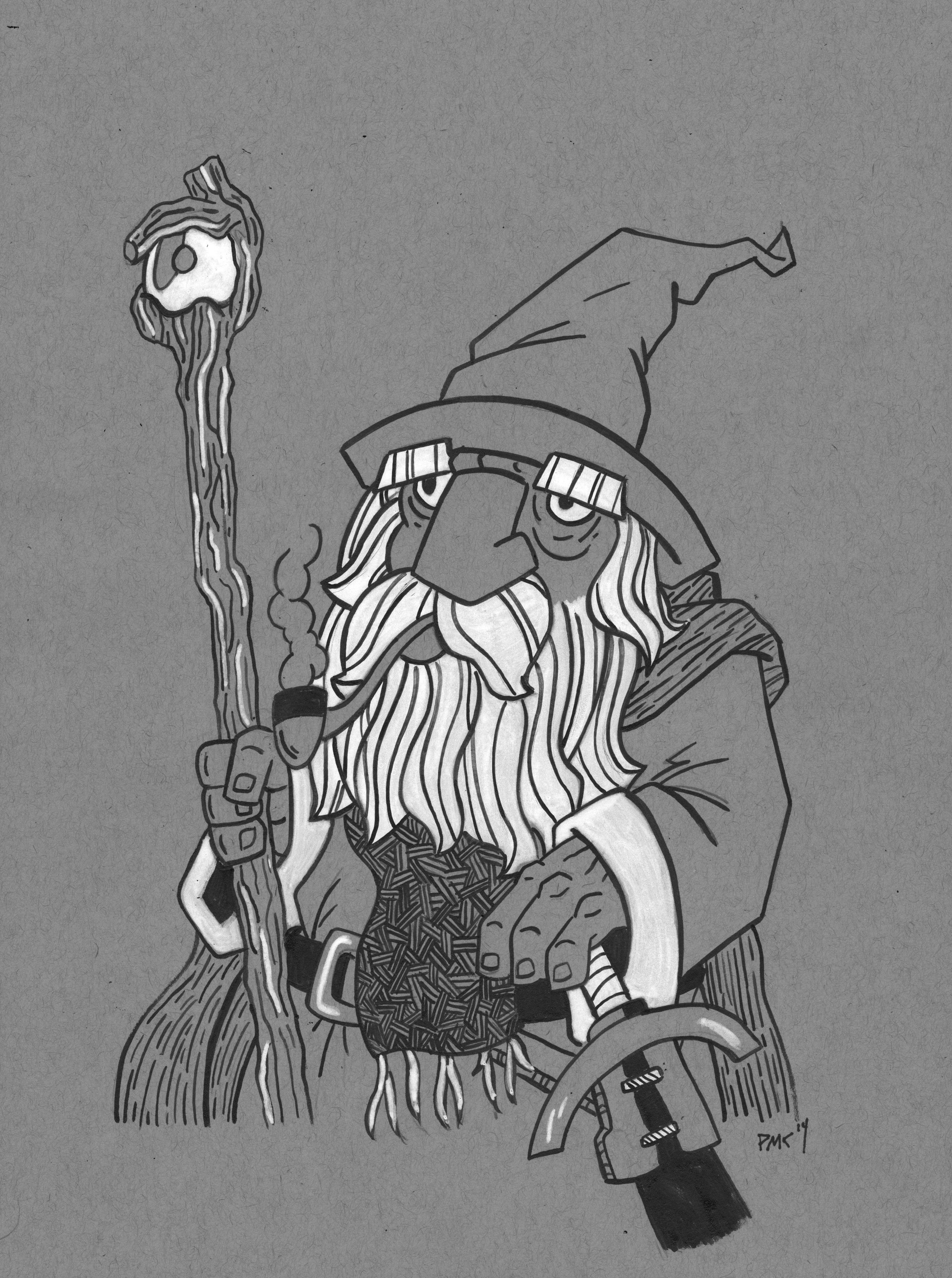 gandalf the gray coloring pages - photo#41