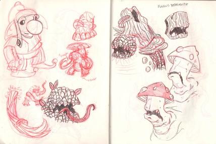 fungus_Sketch